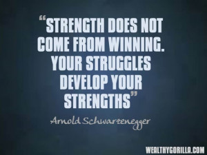 Arnold Schwarzenegger Motivational Picture Quotes