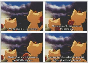 ... Instead Of What's Different In Pokemon The First Movie Picture Quote