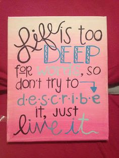 Quotes, Canvas Inspirational Quotes, Inspiration Quotes On Canvas ...