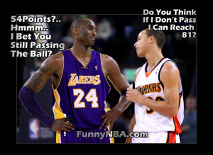 Kobe has some advice to Steph