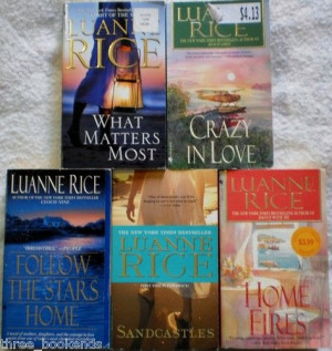 Luanne Rice Lot of 5. $4.50