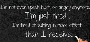Just Tired Quotes
