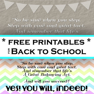 BACK TO SCHOOL MEMORABLE QUOTES