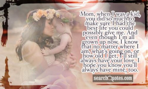 Inspirational Mothers Day Quotes & Sayings