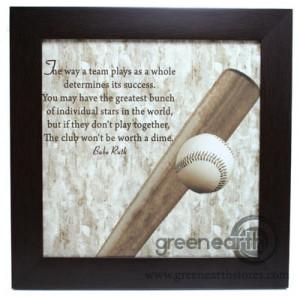 Baseball Sportsmanship Quotes