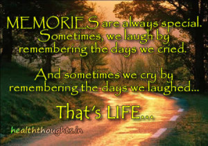 Memories-are-always-special-quote-on-life