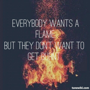 Tumblr Bonfire Quotes Bonfire heart by james blunt