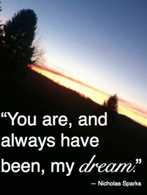 What's your dream for your life?