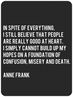 ... anne frank quotes displaying 18 images for anne frank quotes toolbar