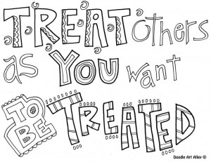 ... Quotes, Colors Quotes, Doodles Art, Golden Rules, Schools, Coloring