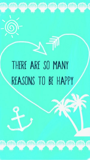 There are so many reasons to be happy!!!