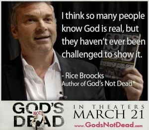 Gods Not Dead Quotes