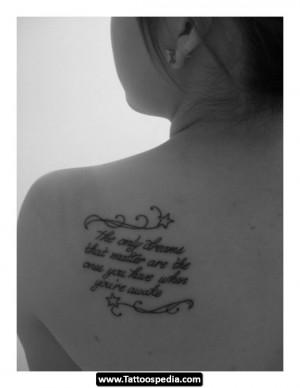 Short%20Tattoo%20Quotes 15 Short Tattoo Design Idea Quotes 15