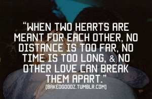 meant for each other