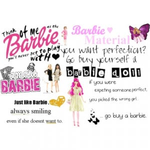 Funny Barbie Quotes