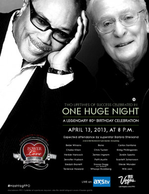 ... craft, Quincy Jones and Sir Michael Caine on their 80th birthday