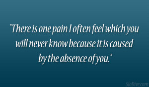 There One Pain Often Feel...