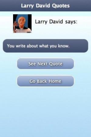 Larry David Sayings Screenshots larry david quotes