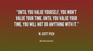 value yourself quotes