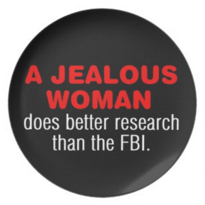 funny quote dinner plates