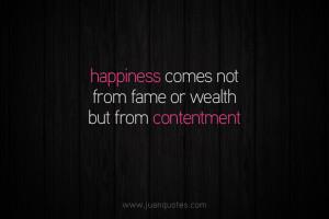 Contentment Quotes Contentment. quotes