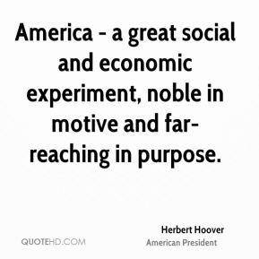 Herbert Hoover American President