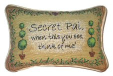 Secret Pal Quotes http://www.abentleycushions.co.uk/detail.asp?pID ...