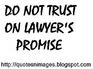 Good Lawyers Know The...