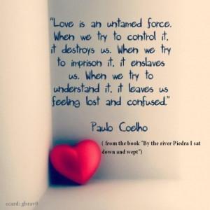 paulo coelho quotes love spanish Paulo