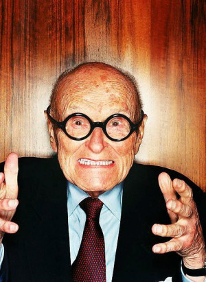 Philip Johnson by David La Chapelle. © LaChapelle Studio