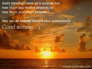 Christian Quotes blessing receive heart expectations
