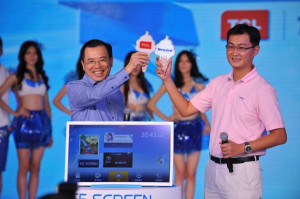 China TV vendors to release ultra large and high definition TVs
