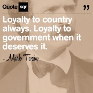 ... government when it deserves it. - Mark Twain #quotesqr #politics #