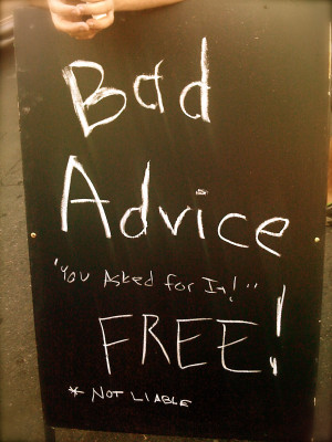 Bad Family Quotes Advice of family to heart,