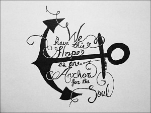 Anchor Quote Hope Is An anchor