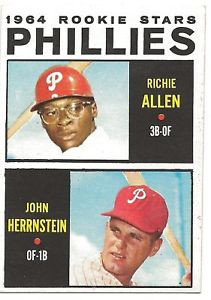 Phillies Richie Allen 1964 Topps 243 Rookie Near Mint