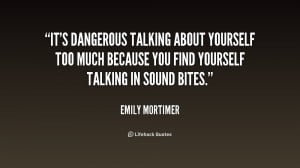 Quotes About Talking Too Much