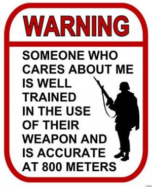 Warning - Someone Cares - 800 meters