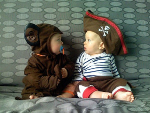 Baby Koala and Baby Pirate. (Photo: Flickr/ http://www.flickr.com ...