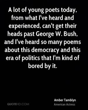 Amber Tamblyn Politics Quotes
