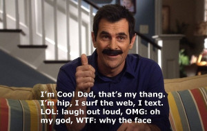 Phil Dunphy on being a cool dad.