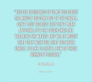Olivia Colman Quotes