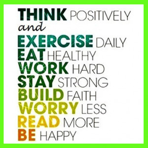 Healthy living quotes moderation as a key to eating healthy