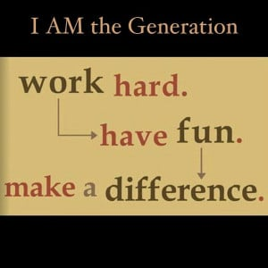 Work Hard, Have Fun, Make a Difference! Great Motto to live by! It's ...