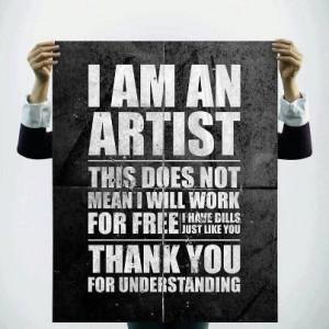 Am An Artist
