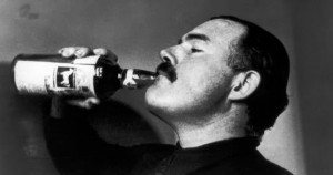 Top 10 Ernest Hemingway Quotes on Drinking
