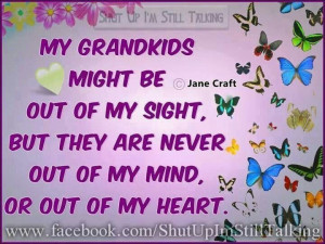 Grandchildren are. So special