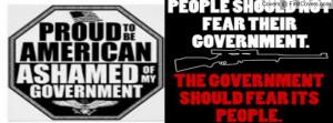 anti-government Profile Facebook Covers