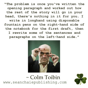 Colm, Toibin, Brooklyn, Irish Writers
