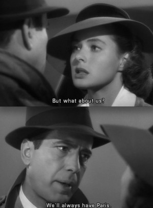 ... white, casablanca, classic, fashion, love, movie, old hollywood, paris
